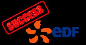 EDF success